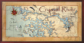 Crystal River 16X32 canvas print