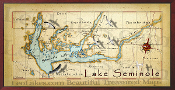Lake Seminole  10x20 print