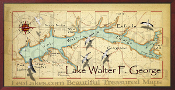 Lake Eufaula 16X32 canvas print