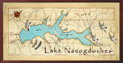 Lake Nacogdoches 16X32 canvas print