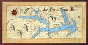 Lake Bob Sandlin 16X32 canvas print