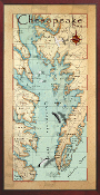Chesapeake Bay 10x20 print