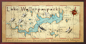 Lake Wallenpaupack 16X32 canvas print