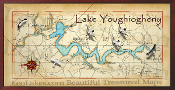 Lake Youghiogheny 16X32 canvas print