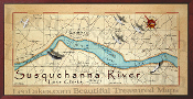 Susquenanna River west 16X32 canvas print