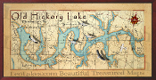 Old Hickory Lake 10x20 print