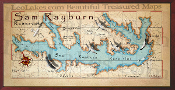 Lake Sam Rayburn 10x20 print