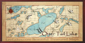 Otter Tail Lake 10x20 print