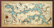Harry S. Truman Lake 10x20 print