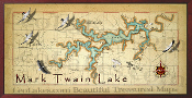 Mark Twian Lake 10x20 print