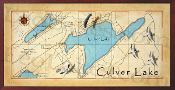 Culver Lake 16X32 canvas print