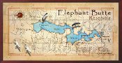 Elephant Butte Lake  16X32 print