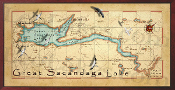 Great Sacandaga Lake 10x20 print