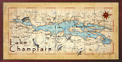 Lake Champlain 16X32 canvas print