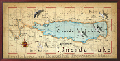 Lake Oneida 16X32 canvas print