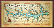 Lake Gaston 16X32 canvas print