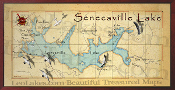 Senecaville Lake 16X32 canvas print