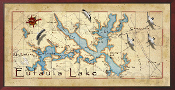 Eufaula Lake 10x20 print