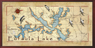 Eufaula Lake 16x32 canvas