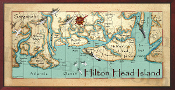 Hilton Head Island 16X32 canvas print