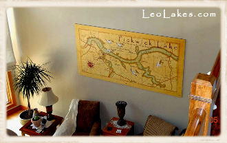 Large Custom Map Print
