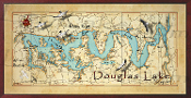 Douglas Lake Map 16X32