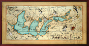 Reelfoot Lake Map 16X32