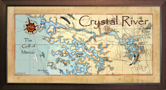 Crystal River Map